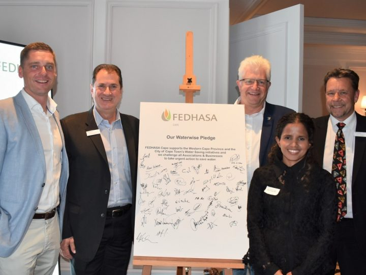 FEDHASA Cape Waterwise Pledge