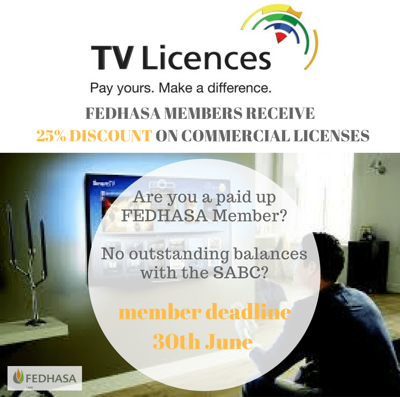 ENSURE THAT YOU DO NOT MISS OUT ON YOUR 25% SABC DISCOUNT